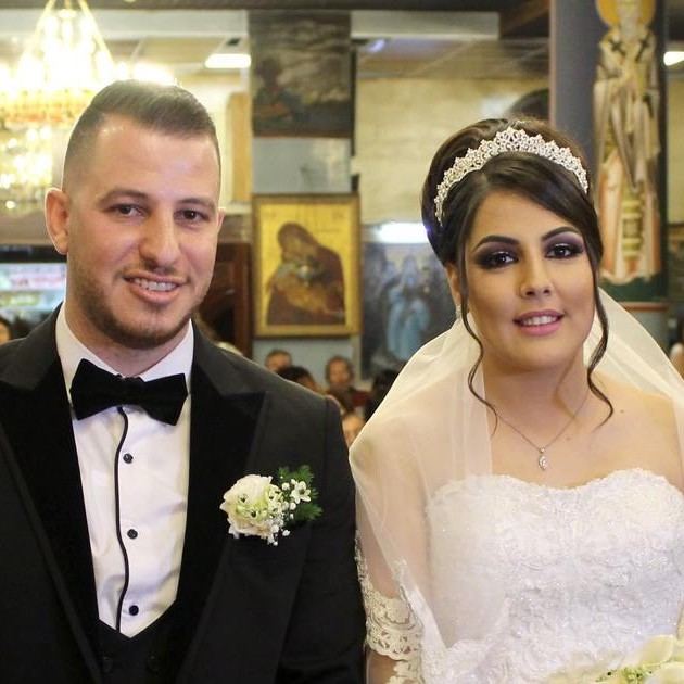 samih chritina wedding